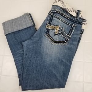 Miss Me size 31 distressed Sunny Skinny Jeans